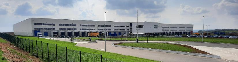 nouveau centre logistique & nouveau partenaire