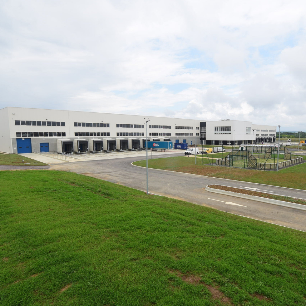 Nouveau centre logistique Logtex